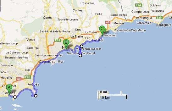 Joe Pattis 2012 Europe Travel Plan